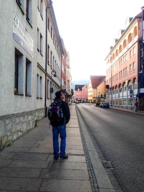 Kota Fussen pagi hari